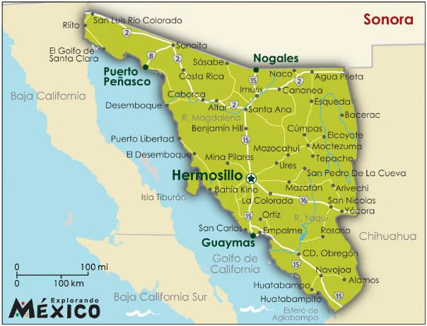 Obregon Mexico Map.Mexconnect Com Forums General Traveling Mexico Advice For